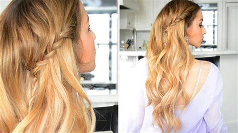 Twisted Waterfall Braid With Rope Braid