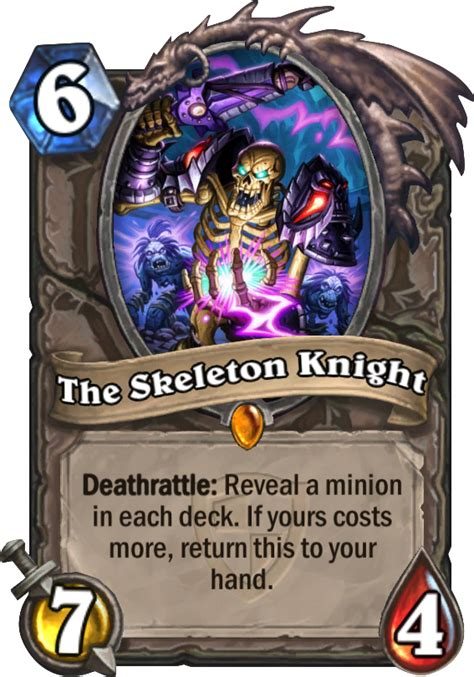 the skeleton knight hearthstone card