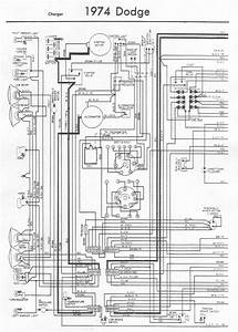 Wiring Diagram For A 74 Charger