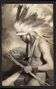Native American with Headdress
