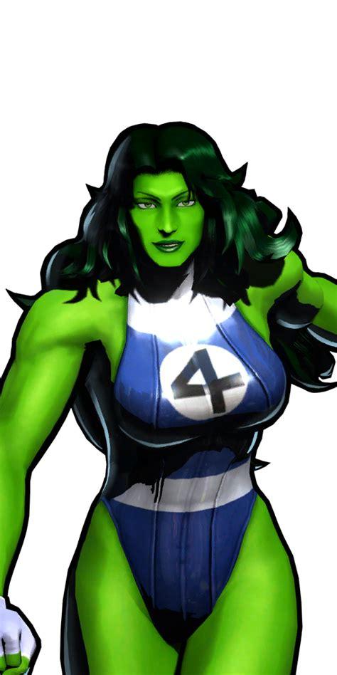 hulk she marvel shehulk vs capcom umvc3 ultimate fightersgeneration