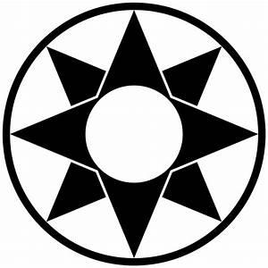 File Ishtar-star-symbol-simplified-filled Svg
