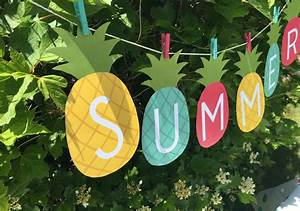 Summer Banner Printable - My Sister's Suitcase - Packed