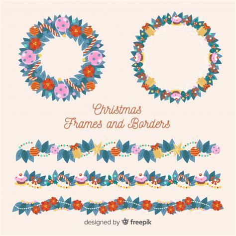 cornici natalizie gratis serie di bordi e cornici natalizie scaricare