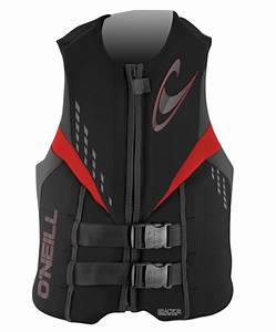 O Neill Children S Wetsuit Size Chart O 39 Neill Reactor 3 Uscg Life Vest Pfd Black Graphite Red