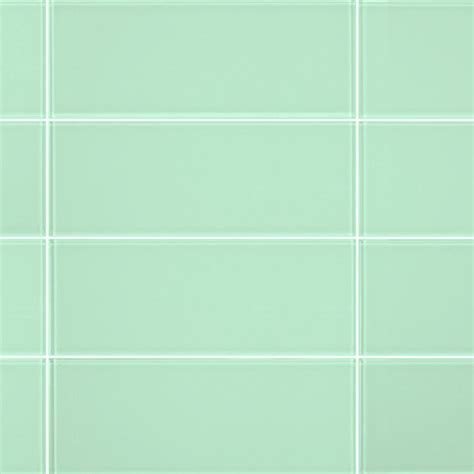3x8 light green glass subway tile modern tile by all