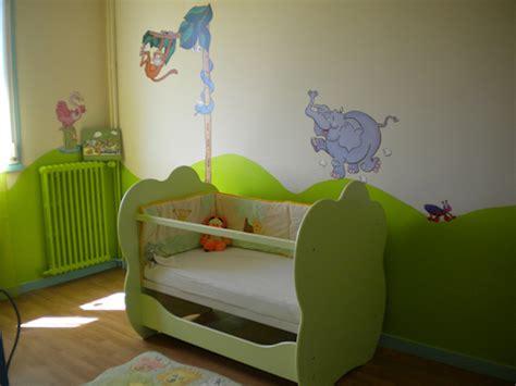 chambre vert anis déco chambre bébé vert anis