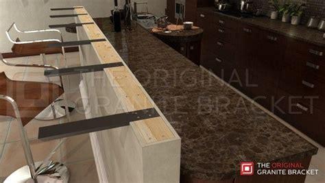 bar brackets made in usa for countertop overhangs steel