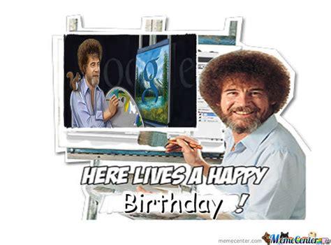 Happy 70th Bob Ross! By Lolnope
