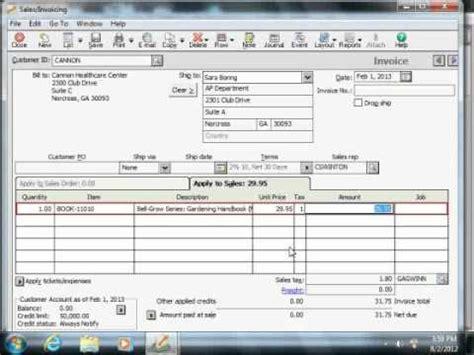 sage  tutorial  salesinvoicing window sage training