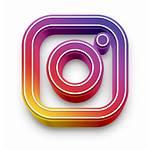 Social Insta 3d Icon Inc Jo Platform