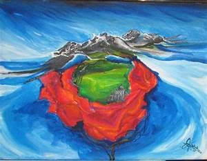 Wolken In Rose : imperium in der rose wolken rose kirche malerei von kathrin evert bei kunstnet ~ Orissabook.com Haus und Dekorationen