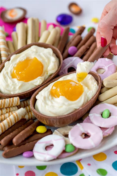 This sweet recipe is easy to make and cooked in a skillet! This Giant Cadbury Creme Egg Cheesecake Dip Recipe Is THE ...