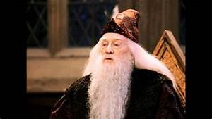 Dumbledore Impression (Richard Harris) - YouTube