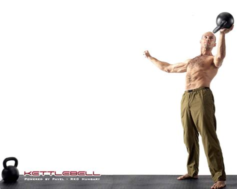 kettlebell pavel tsatsouline wod crossfit benefits press i35 crossfiti35 russian perspective pt waiter doing strength