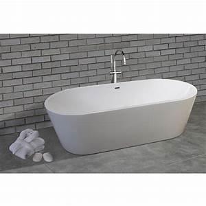 Moderne Freistehende Badewannen : nicole 2 design wei moderne freistehende badewanne 1785x840mm badewannen freestanding viadurini ~ Sanjose-hotels-ca.com Haus und Dekorationen
