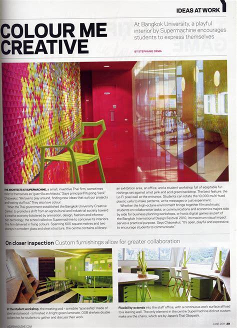 Azure Magazine Article On Design Firm Supermachine