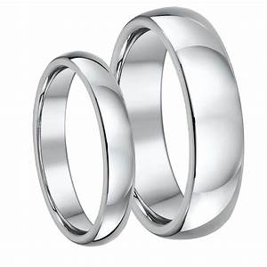 his hers titanium court wedding rings 46mm court With titanium wedding rings