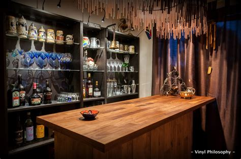 Ikea Bar Ideas by Vinyl Philosophy Diy Home Bar Built From Ikea Stuff
