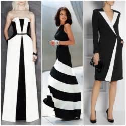 einrichtungsideen küche schminktipps wenn ein schwarz weißes kleid trägt