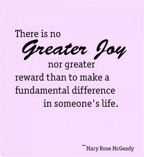 Make a Difference in Someone's Life Quote