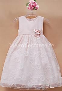 robe de cortege enfant rosalie peche tulle decore avec rose With robe de cocktail combiné avec chapeau bébé garçon