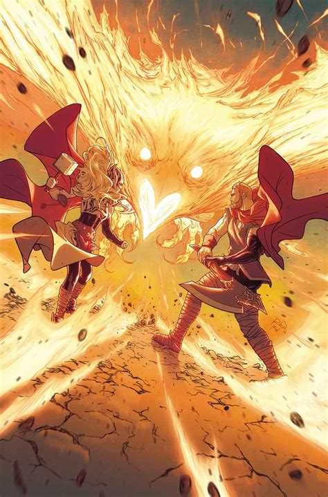 phoenix force thor marvel mighty dauterman russell comics jean grey comic jane covers foster week gods last issue expect showed