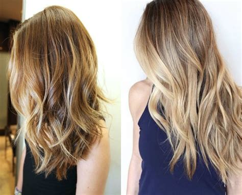 Balayage Blonde Hair Colors 2017 Summer