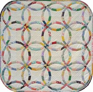 advanced quilting double wedding ring quilt patterns With wedding ring quilt