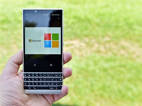here s why blackberry should load the key2 with microsoft software windows central