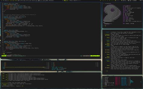 window manager tiling status kintaro