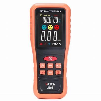 Pm2 Detector Handheld Range Humidity Temperature Measurement