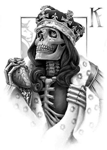 OG Abel - king   Card tattoo designs, Skulls drawing, Og