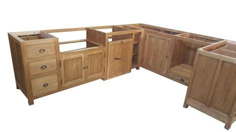 mobilier de cuisine en bois massif meuble de cuisine en bois brut mobilier design
