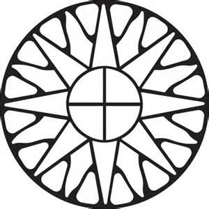 Sun Stencil Pattern