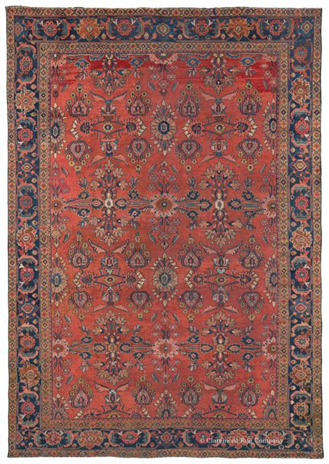 Antique Rugs - antique mahal rug guide claremont rug company