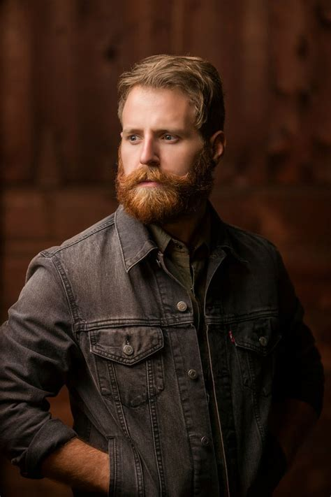 sultry ginger beard styles  men hairstylecamp