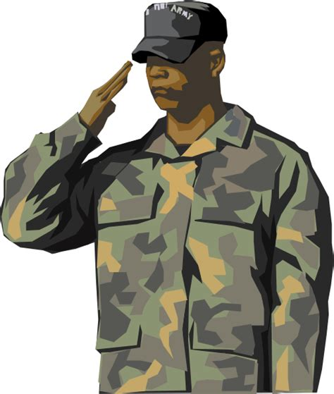 Army Clipart Army Veteran Clip At Clker Vector Clip