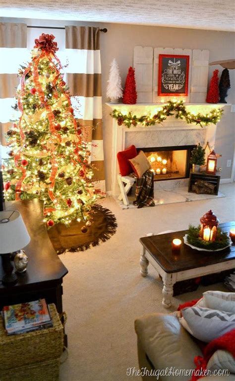 top indoor christmas decorations  pinterest christmas