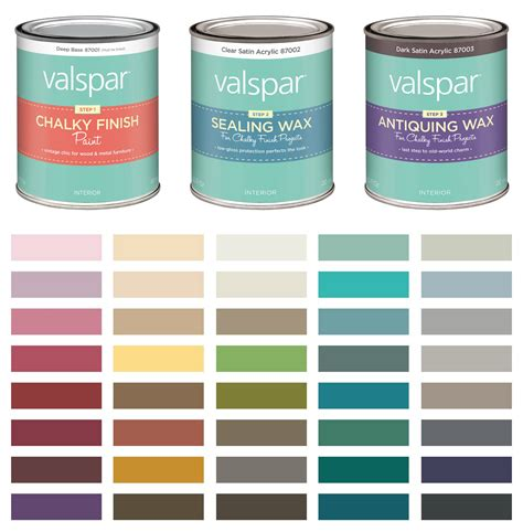 valspar chalk paint color chart jewelry armoire makeover with valspar chalky finish paint