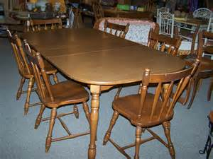 used dining room sets exceptional used dining sets 4 vintage maple dining room chairs bloggerluv
