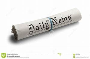 Generic Rolled Up Newspaper Royalty Free Stock Photos ...