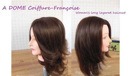 coupe cheveux degradee cheveux longslong layered bob