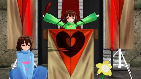 [mmd Undertale] Chara The #1 Dictator By Insanehipsterteto
