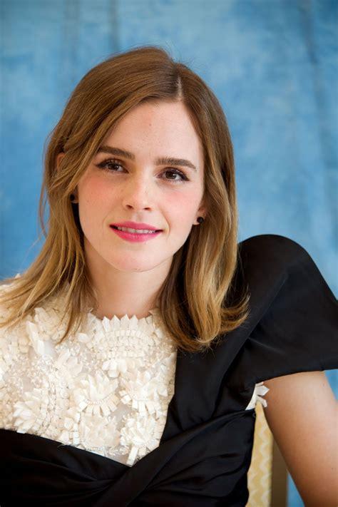 Emma Watson Beauty The Beast Press Conference