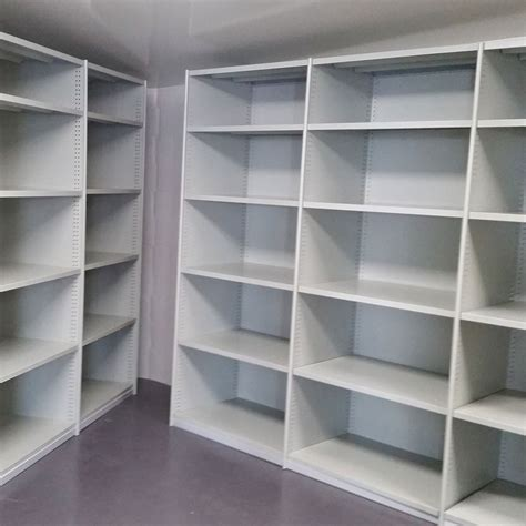 edge steel bin units 72 compartments bolted rolled edge shelving advanced racking and shelving australia Rolled