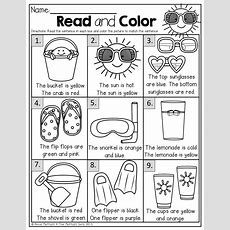 Summer Review No Prep (kindergarten)  Kinderland Collaborative  Summer Worksheets