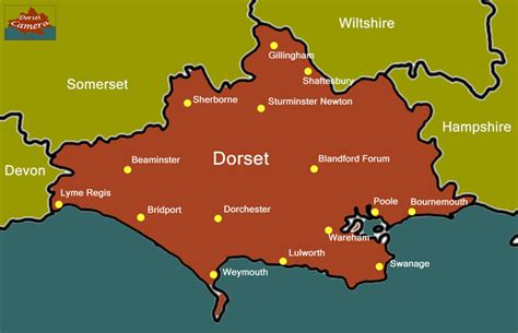 map  dorset uk pictures  pin  pinterest pinsdaddy