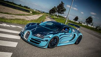 Bugatti Veyron Super Sport Bleu Supercar 1080p