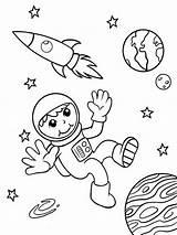 Astronaut Coloring Printable Ausmalbilder Mycoloring Ausdrucken Malvorlagen Kostenlos Zum sketch template